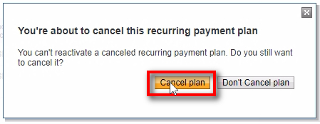 You'll be asked if you really want to cancel the subscription. Click on Cancel to confirm. It will immediately cancel this subscription and won't renew it. After 1-month this subscription will expire on Signal Magician and stop working. Customer will still have this product/service working until the date paid.